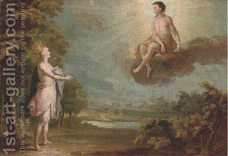 An Allegory of the Americas by Dutch Colonial School - Reproduction Oil Painting