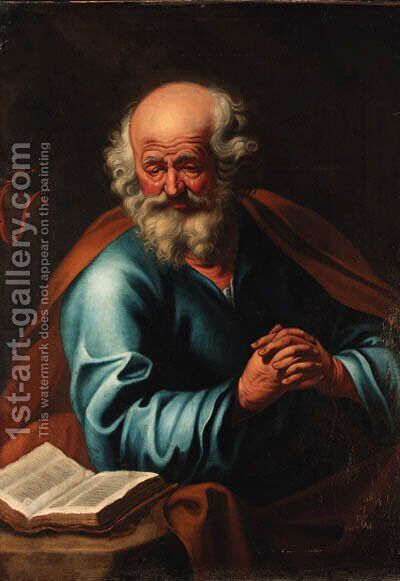 Saint Peter by Dutch School - Reproduction Oil Painting