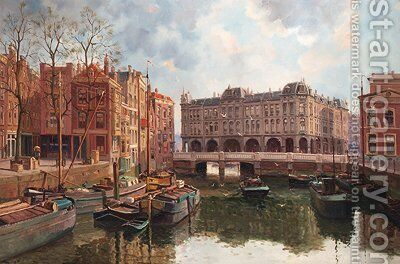 Plan C, Rotterdam by Dutch School - Reproduction Oil Painting