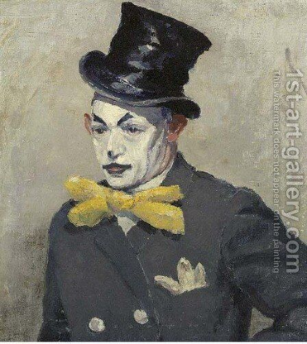 The Clown by Dutch School - Reproduction Oil Painting