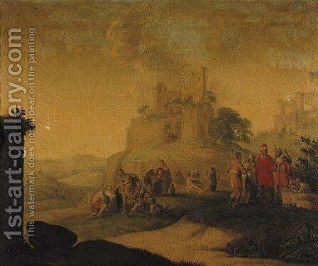 The Seven Acts of Mercy by Dutch School - Reproduction Oil Painting