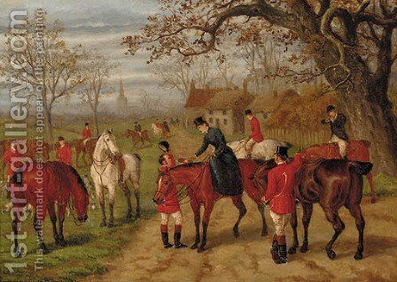 After the run by Edward Benjamin Herberte - Reproduction Oil Painting
