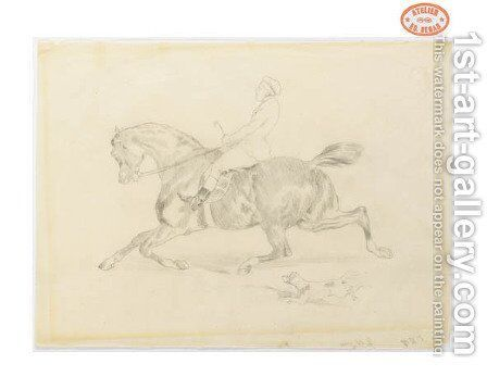 Cavalier 2 by Edgar Degas - Reproduction Oil Painting