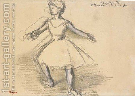 Danseuse 4 by Edgar Degas - Reproduction Oil Painting