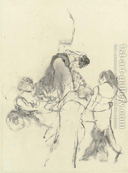 The Customer, Supper Time (L'Amateur, le souper) by Edgar Degas - Reproduction Oil Painting