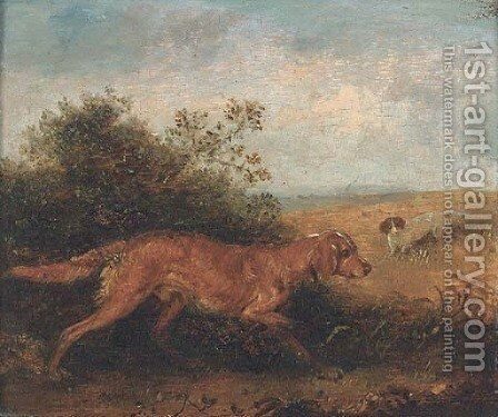 Gundogs by Edmund Bristow - Reproduction Oil Painting
