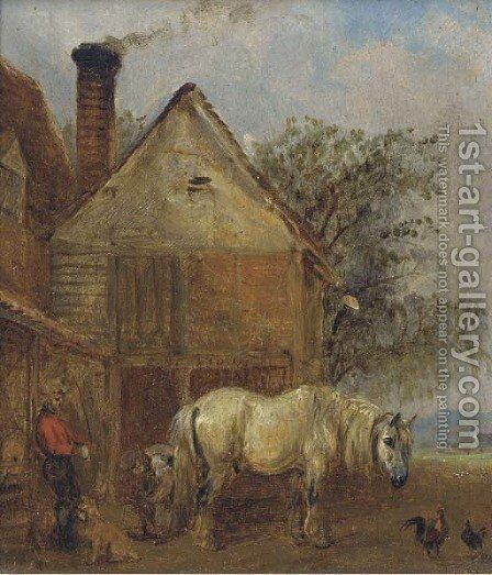 The farrier by Edmund Bristow - Reproduction Oil Painting