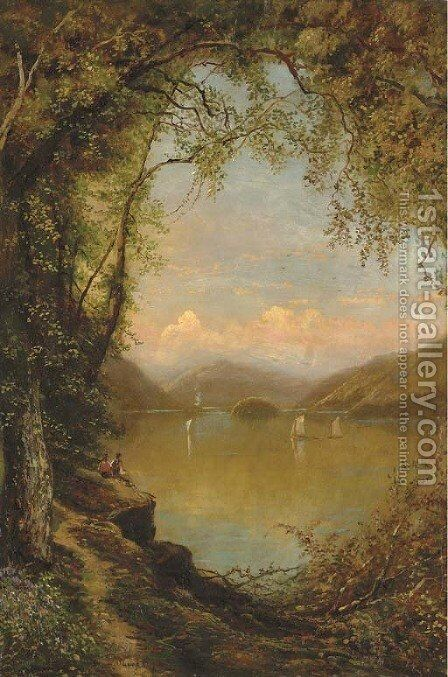 Summer Idyll by Edmund Darch Lewis - Reproduction Oil Painting