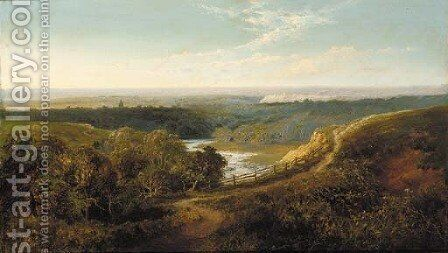Richmond, Yorkshire 2 by Edward H. Niemann - Reproduction Oil Painting