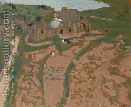 En Bretagne, Saint-Jacut by Edouard  (Jean-Edouard) Vuillard - Reproduction Oil Painting