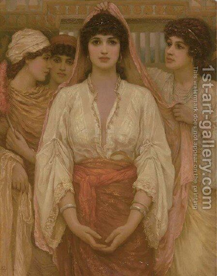 The Bride by Edward Alfred Angelo Goodall - Reproduction Oil Painting