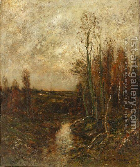 Autumn Landscape by Edward B. Gay - Reproduction Oil Painting