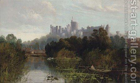 Windsor Castle by Edward H. Niemann - Reproduction Oil Painting