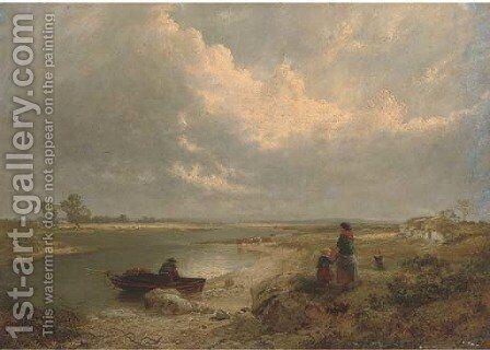 On the firth by Edward Hargitt - Reproduction Oil Painting
