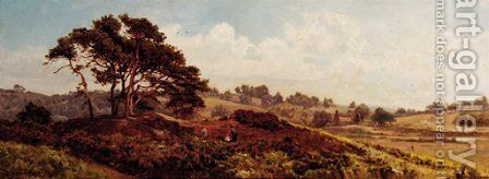 On Reigate Heath by Edward Henry Holder - Reproduction Oil Painting