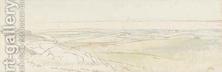 Gibeah by Edward Lear - Reproduction Oil Painting