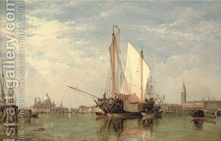 Bella Venezia by Edward William Cooke - Reproduction Oil Painting