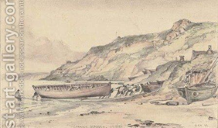 Carrick Gladden, St Ives by Edward William Cooke - Reproduction Oil Painting