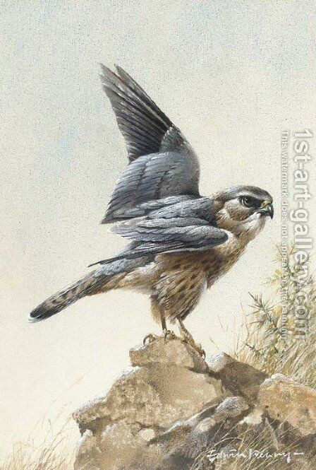 A merlin by Edward Penny - Reproduction Oil Painting