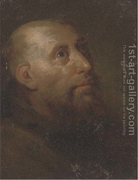 A monk by Egbert Jaspersz. van, the Elder Heemskerck - Reproduction Oil Painting