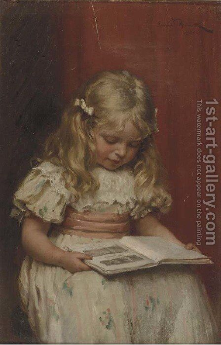 The picture book by Emil Brack - Reproduction Oil Painting