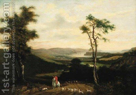Before the hunt by English School - Reproduction Oil Painting