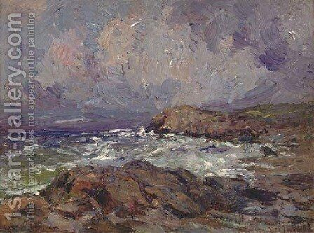 Before the storm by (after) Aleksandr Evgen'evich Yakovlev - Reproduction Oil Painting