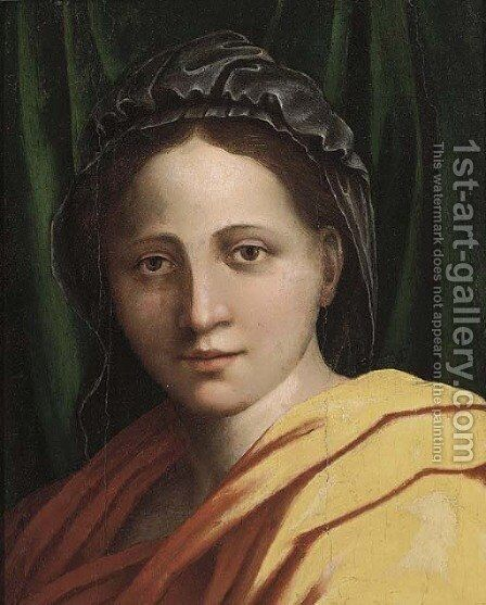 The Madonna by (after) Andrea Del Sarto - Reproduction Oil Painting