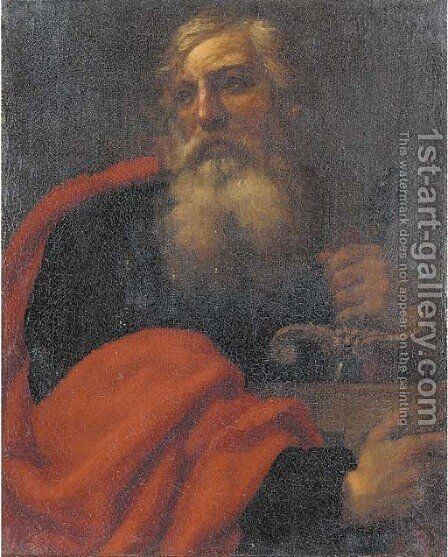 Saint Paul by (after) Antonio Zanchi - Reproduction Oil Painting