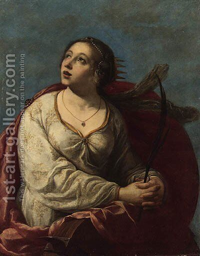saint catherine of alexandria painting by after artemisia
