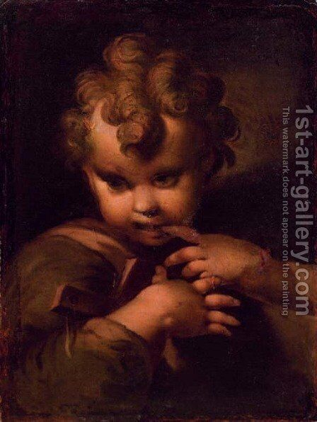 The Infant Christ by (after) Bartolomeo Schedoni - Reproduction Oil Painting