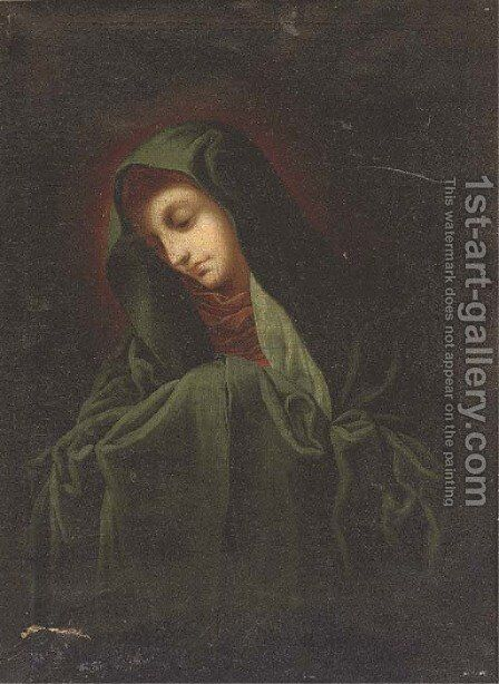 The Madonna by (after) Carlo Dolci - Reproduction Oil Painting