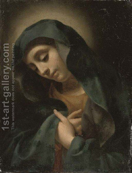 The Virgin Annunciate by (after) Carlo Dolci - Reproduction Oil Painting