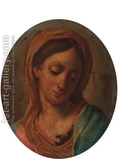 The Madonna by (after) Carlo Maratta Or Maratti - Reproduction Oil Painting