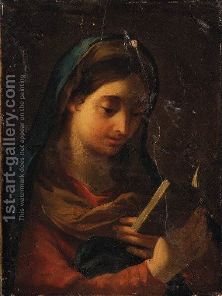 The Magdalen by (after) Carlo Maratta Or Maratti - Reproduction Oil Painting