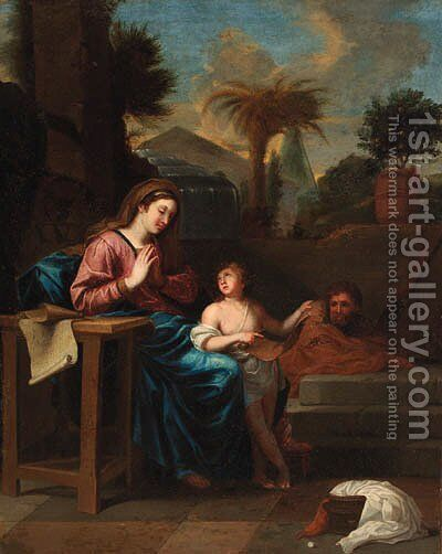 The Infancy of Christ by (after) Charles Lebrun - Reproduction Oil Painting