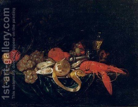 Still Life by (after) Cornelis De Heem - Reproduction Oil Painting