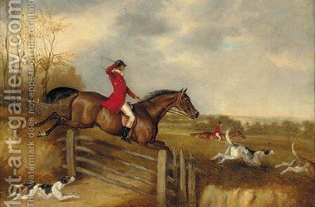 Over the gate by (after) David Of York Dalby - Reproduction Oil Painting