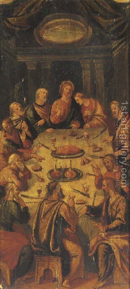 The Last Supper by (after) El Greco (Domenikos Theotokopoulos) - Reproduction Oil Painting