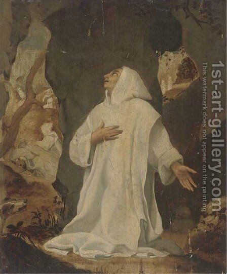 A Domenican friar by (after) Donato Creti - Reproduction Oil Painting