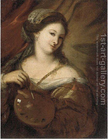 Portrait of the artist by (after) Elisabetta Sirani - Reproduction Oil Painting