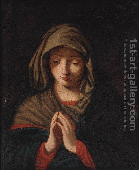 The Penitent Magdalene by (after) Francesco Maratta - Reproduction Oil Painting