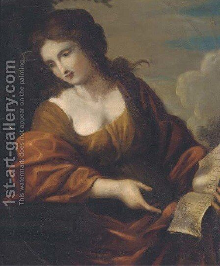 A sybil by (after) Francesco Solimena - Reproduction Oil Painting