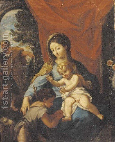 The Holy Family by (after) Francesco Trevesani - Reproduction Oil Painting