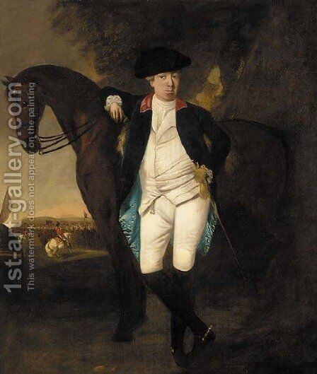 Portrait of a gentleman by (after) Francis Wheatley - Reproduction Oil Painting