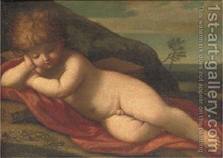 The Infant Christ by (after) Guido Reni - Reproduction Oil Painting