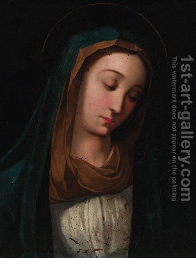 The Madonna by (after) Guido Reni - Reproduction Oil Painting
