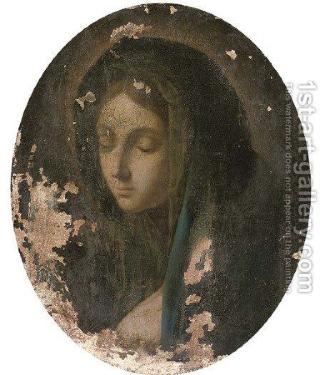 The Madonna 2 by (after) Guido Reni - Reproduction Oil Painting