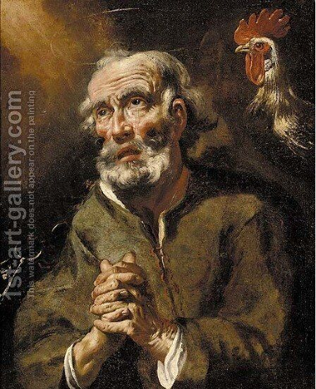 Saint Peter by (after) Jusepe De Ribera - Reproduction Oil Painting