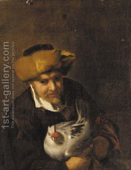 An old man by (after) Hendrick Bloemaert - Reproduction Oil Painting